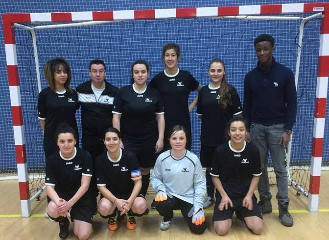 FUTSAL FÉMININ : CHAMPIONs d'excellence (régional) !